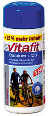 Vitafit Calcium + D3, Tabletten