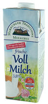 Marburger Traditionsmolkerei Frische Vollmilch 3,8%