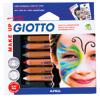 Giotto Make Up Schminkstifte, 6 Stück