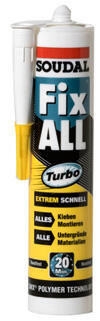 Soudal Fix All Turbo, weiss