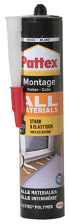 Pattex Montagekleber All Materials, weiss