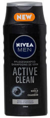 Nivea Men Active Clean Pflegeshampoo Activ-Kohle