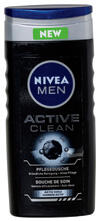 Nivea Men Active Clean Pflegedusche Aktiv Kohle