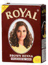 Royal Brown Henna Herbal Base Powder Hair Dye