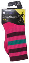 Smartwool Hike Light Cushion Women's, bright pink