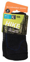 Icebreaker Merino Hike Crew Medium Cushion, black