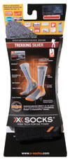 X-Socks Trekking Silver, black/anthrazit