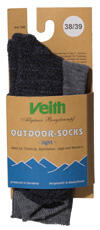 Veith Outdoor Socks Light, fels-farbig