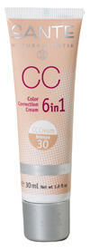 Sante CC Color Correction Cream 6 in 1, bronze 30