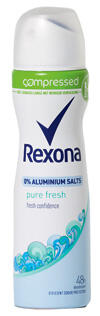 Rexona Pure Fresh Deodorant Compressed