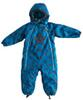 Racoon Skjold Star Baby Suit, sea