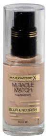 Max Factor Miracle Match Foundation, Beige 55