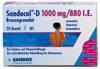 Sandocal-D 1000 mg/880 I.E. Brausegranulat