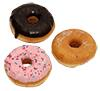 Dunkin' Donuts Sugar, Strawberry Frosted, Chocolate Fr, lose