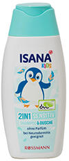 Isana Kids 2in1 Sensitiv Shampoo & Dusche