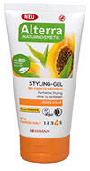 Alterra Styling-Gel Bio-Papaya & Bambus - Sehr Starker Halt
