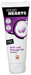 Young Hearts Gleit- und Massage-Gel Sensitiv