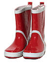 Playshoes Gummistiefel, rot
