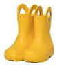 Crocs Handle it Rain Boot Kids, roomy fit, yellow