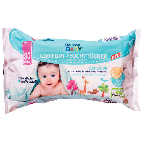 Elcurina Baby Comfort- Feuchttücher Sensitive