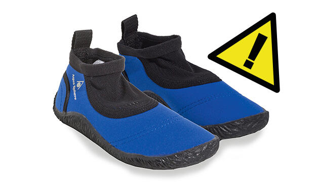 Reaktionen: Kinderschwimmschuh Aqua Sphere Beachwalker Junior Black/blue