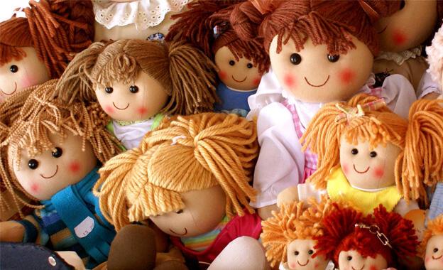 Baby Plüsch Steiff Puppe Frieda 38 cm Kinderspielzeug