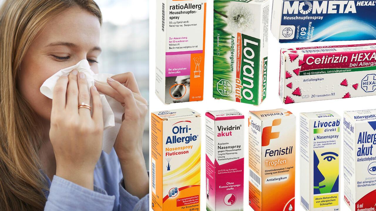 medikamente gegen allergie im test diese mittel helfen bei pollenflug ko test. Black Bedroom Furniture Sets. Home Design Ideas